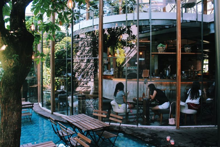 Unique Cafe In Bandung